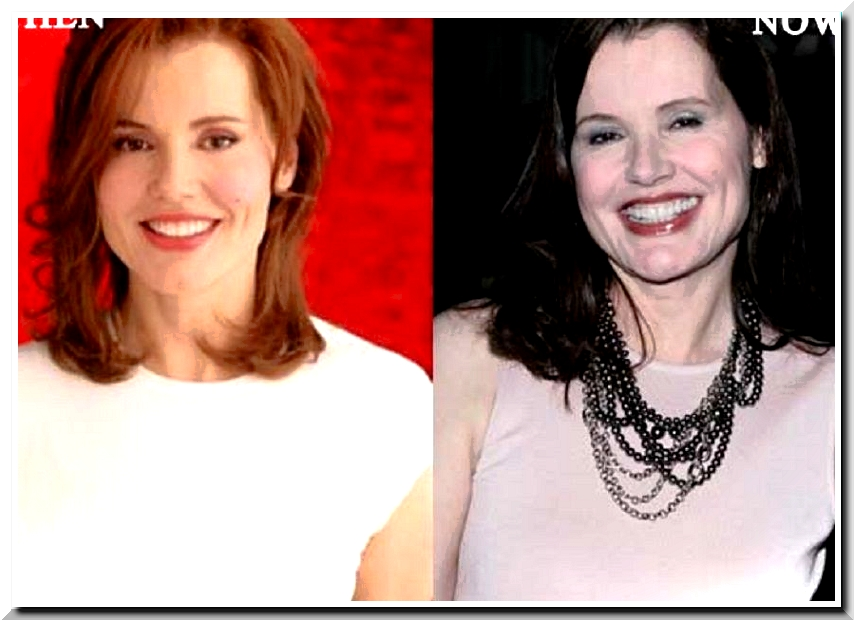 Geena Davis, She Looks More Perfect after Marrying A Plastic Surgeon